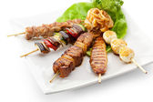 Grilled Food — Stock Photo