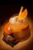 Tangerine Cocktail — Zdjęcie stockowe