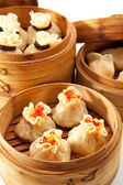 Steamed Dumplings — Stock Photo