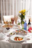 Restaurant Food — Stock Photo