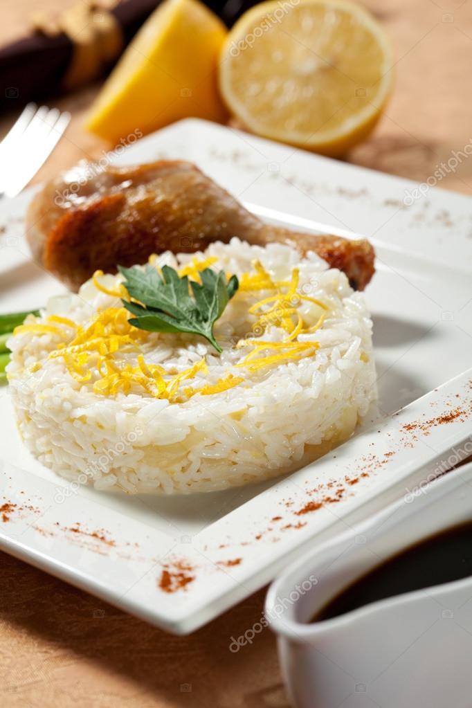 Ризотто - традиционное блюдо для северных регионов италии, для которого используется рис с высоким содержанием