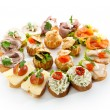 Canapes — Stock Photo #23900035