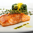 Salmon Steak — Stock Photo #23900165