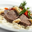 Boiled Beef — Stock Photo