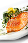 Salmon Steak — Photo
