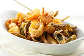 Deep Fried Seafood — Stock Photo