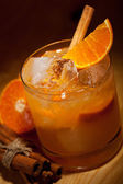 Tangerine Cocktail — Stock Photo