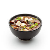 Japanese Cuisine - Miso Soup — Stock Photo