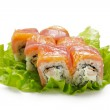 Постер, плакат: Salmon and Tuna Roll