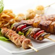 Stock Photo: Grilled Foods