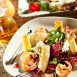 Seafood with Pasta — Stock Photo #25047037