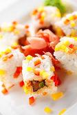 Fish Roll — Stock Photo