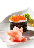 Ikura suşi — Stok fotoğraf