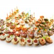Canapes — Stock Photo
