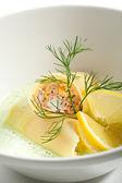 Salmon Cannelloni — Stock Photo