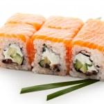 Salmon Roll — Stock Photo #29917921