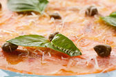 Salmon Carpaccio — Stock Photo