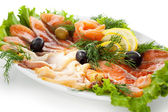 Fish Plate — Stock Photo