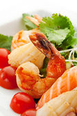 Seafood Salad — Stock Photo
