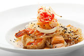 Seafood Noodles — Stock Photo
