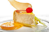 Dessert - Cheesecake — Stock Photo