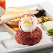 Beef Tartare — Stock Photo