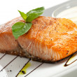 Stock Photo: Salmon Steak