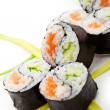 Yin Yang Roll — Stock Photo