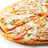 Meat Pizza — Stock Photo