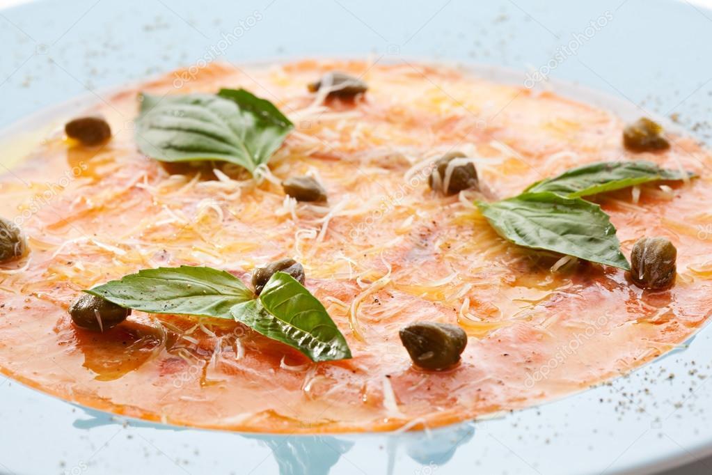 Salmon Carpaccio – Great Chefs
