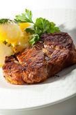 豚のステーキ — ストック写真