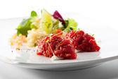 Beef Tartare — Stock Photo