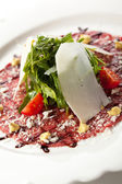 Beef Carpaccio — Stock Photo