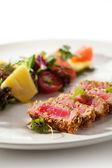 Fried Tuna — Stock Photo