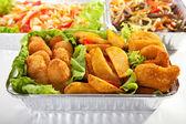 Airplane Food — Stock Photo
