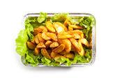 жареный картофель — Стоковое фото