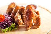 BBQ Chicken Wings — Stock Photo
