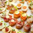 Canapes — Stock Photo #49890187