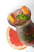 Grapefruit Cocktail — Stock Photo