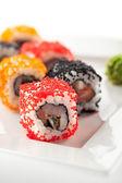 Japanese Cuisine - Sushi — Stock Photo