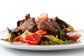 Insalata di carne di vitello — Foto Stock