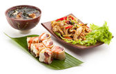 Japanese Lunch — Stock Photo