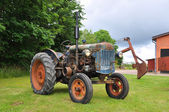 Vintage Fordson tractor — Stock Photo