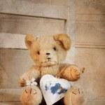 Teddy heart — Stock Photo #43706977