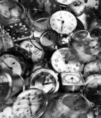 Grunge 时间 — 图库照片
