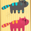 Stock Vector: Kittens