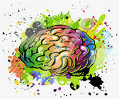 Brain — Stok Vektör
