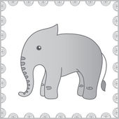 Elephant 3 — Stock Vector