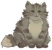 Kitty — Vector de stock