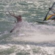Stock Photo: Kiteboarder